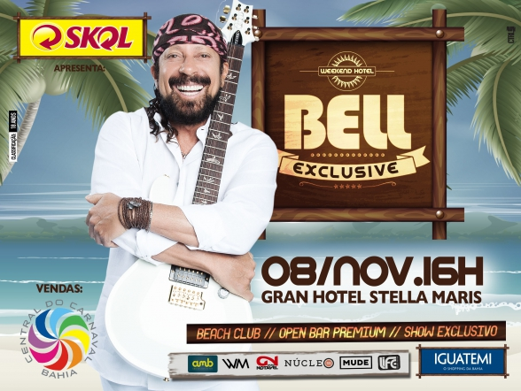 Bell Exclusive: Beach Club, Open Bar Premium, Show Exclusivo