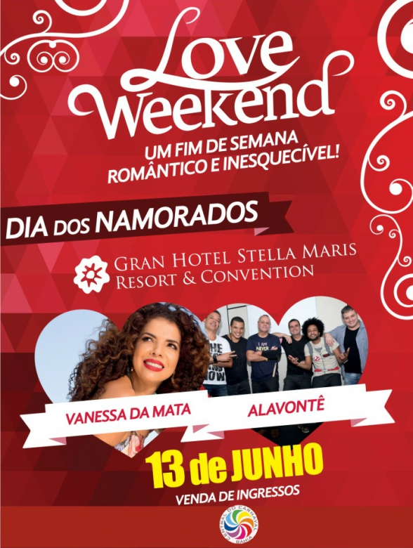 Love Weekend: Vanessa da Mata e Alavontê